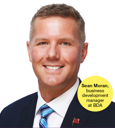 Sean Moran, business development manager at the Bermuda Business Development Agency