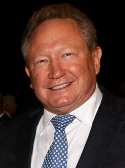 Andrew Forrest, Australian billionaire founder of Fortescue Metals Group