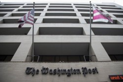 The Washington Post HQ in downtown Washington